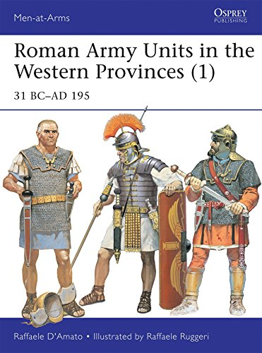- Roman Army Units in the Western Provinces (1): 31 BC–AD 195 (Men-at-Arms)