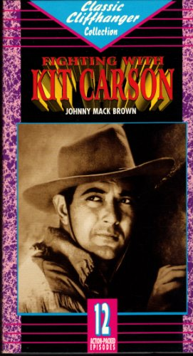 Fighting With Kit Carson [VHS]