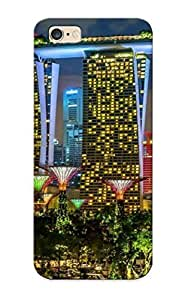 1e7f05e250 Defender Tpu Hard Case Cover For iphone 5c- Singapore Cities Buildings Skyscrapers Night Lights