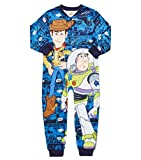 Disney Boys Fleece Onesie Toy Story Woody & Buzz Lightyear Pyjamas Age 2-6 Years (Age 5-6 Years)