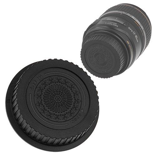 (Fotodiox Designer Rear Lens Cap for Canon EOS EF, EF-S Lenses, Replaces Canon RF-1 Cap)