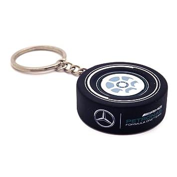 Mercedes AMG F1 Team Rueda Llavero Oficial Nuevo: Amazon.es ...