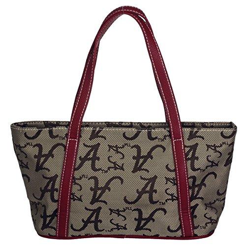 ALABAMA Crimson Tide Signature Line Tote Handbag Style 8510