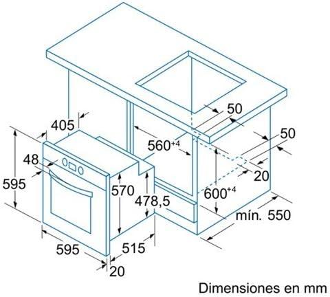 Balay 3HB557XM - Horno Multifunción 3Hb557Xm Con Touch Control ...