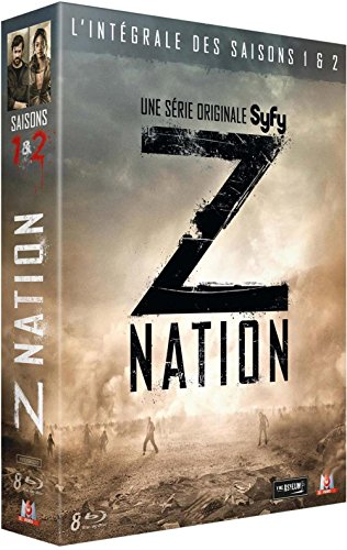 Z Nation (Complete Seasons 1 & 2) - 8-Disc Box Set ( Z Nation - Seasons One and Two (28 Episodes) ) [ NON-USA FORMAT, Blu-Ray, Reg.B Import - France ]