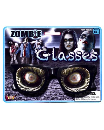 Forum Novelties 65985 Zombie Glasses, One Size, Pack of 1