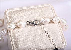Rakumi Natural Freshwater Cultured Baroque Pearl Necklace 18