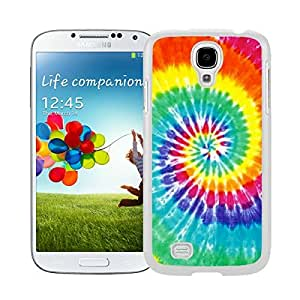 Colorful Hard Shell Cover White S4 Case Tie Dye Samsung Galaxy S4 I9500 Case White Cover