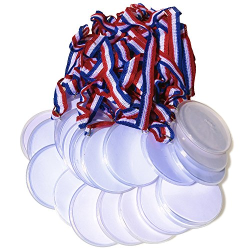 Rhode Island Novelty Design Your Own Award Medals, (24 CT) 1pack