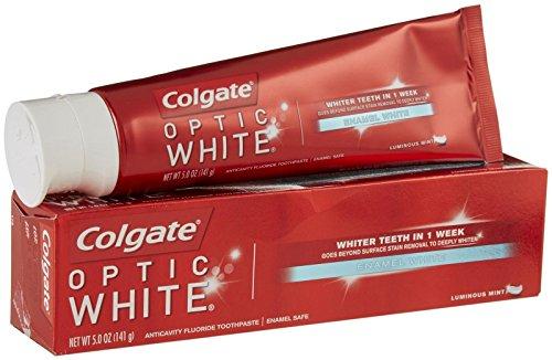 Colgate Optic White Toothpaste - 5 oz - Luminous Mint