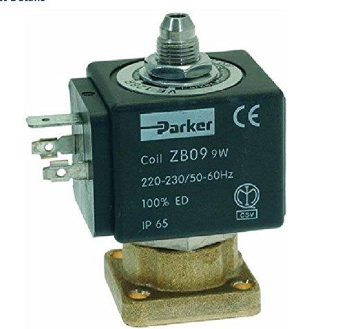 3 Vías válvula de solenoide Parker 230 V 50/60Hz: Amazon.es: Hogar