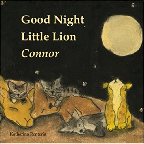 Good Night Little Lion Connor