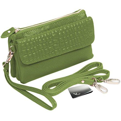 kilofly - Bolso bandolera Mujer verde