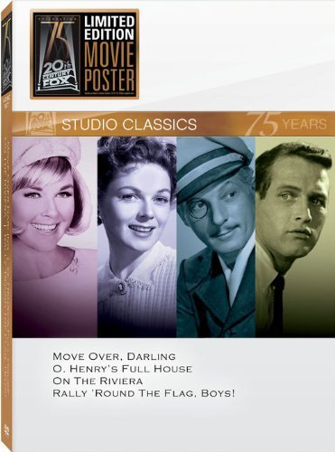 Classic Quad: Set 15 (Move Over, Darling / O. Henry's Full House / On the Riviera / Rally 'Round the Flag, Boys!) by 20th Century Fox (Move Over Darling)