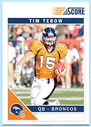3c4484e9c Tim Tebow 2011 Score  92 - Denver Broncos at Amazon s Sports Collectibles  Store