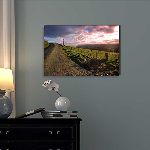 Beautiful Scenery Landscape Evening Country View Wall Decor