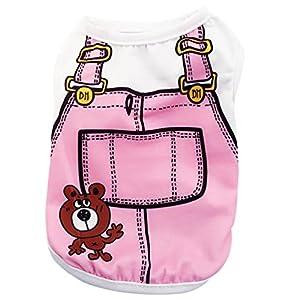Howstar Pet Shirts Super Cute Puppy Vest Tank Tops Dogs Summer Shirt Soft Sweatshirt 7