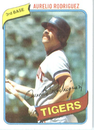 1980 Topps Baseball Card #468 Aurelio Rodriguez (1980 Topps Card)