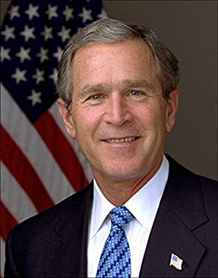 Wall Art Print ~ GEORGE W. BUSH Official Presidential Photo: In the Oval Office