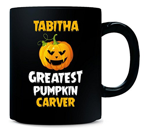 Tabitha Greatest Pumpkin Carver Halloween Gift - Mug