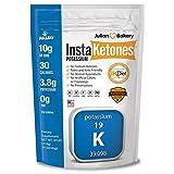 InstaKetones® 10g GoBHB®+ Potassium Per Scoop (Sodium Free) (30 Servings) Exogenous Ketones