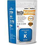 InstaKetones 10g GoBHB+ Potassium Per Scoop (Sodium Free) (30 Servings) Exogenous Ketones