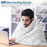 REEPOW Sherpa Weighted Blanket 15 lbs for Adults