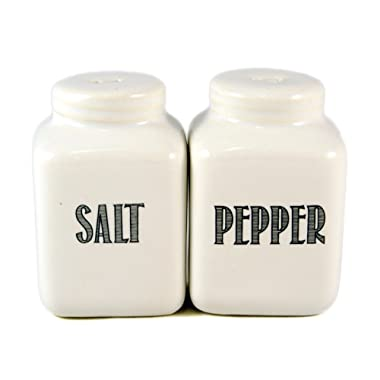 Mason Jar Style Salt & Pepper Shaker Set