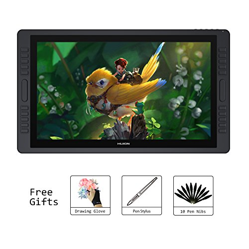 Huion KAMVAS GT-221 Pro 22.1 inch HD Pen Display Tablet Monitor Graphics Drawing Monitor with 8192 Pen Pressure and 20 Shortcut Keys 2 Touch Bars by Huion