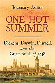 Book Cover: One Hot Summer: Dickens, Darwin, Disraeli, and the Great Stink of 1858