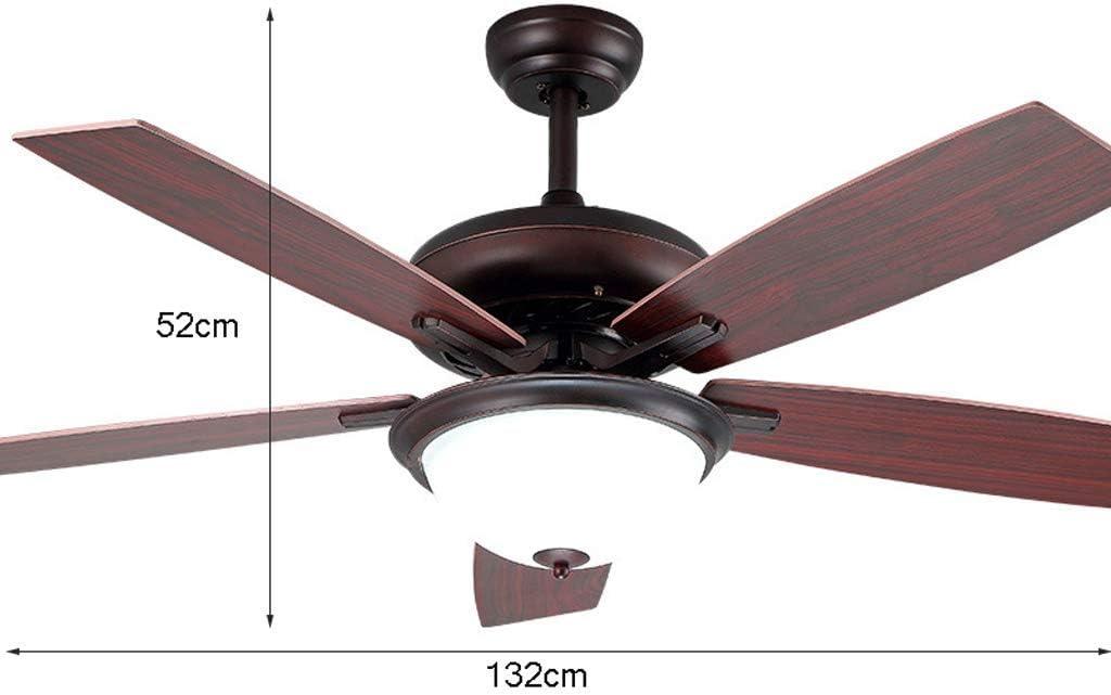 Luz del ventilador de techo Con mando a distancia Dormitorio Araña ...