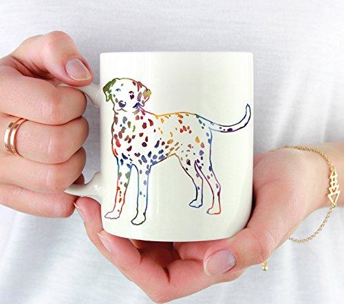 Dalmatian Mug - Dalmatian Lover Coffee Mug - 11 oz - Unique Dalmatian Gifts (Dalmatian Mug)