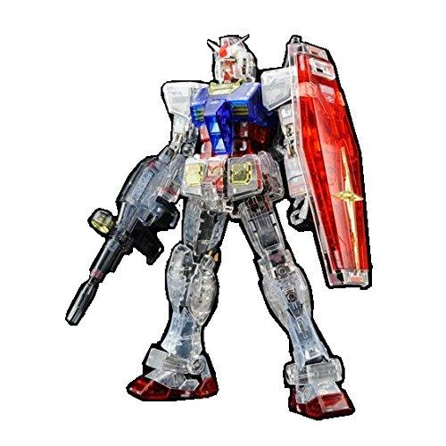 1/144 RG RX-78-2 ガンダム カラークリアVer. 「機動戦士ガンダム展 THE ART OF GUNDAM ガンプラセット券」 プレミアムバンダイ限定の商品画像