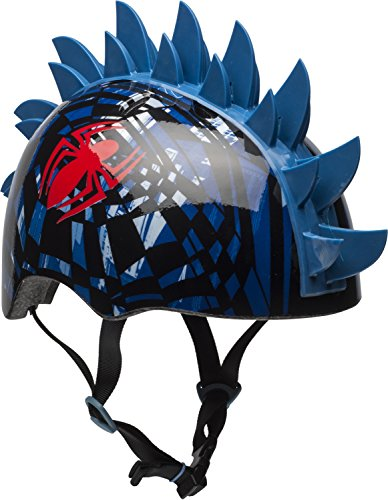 Spider Man Child Helmet (Bell Spider-Man Web Shatter 3D Child Multisport Helmet)