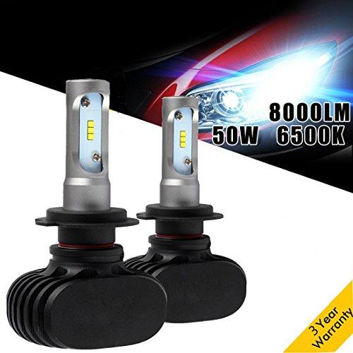 FANLESS HEAD LIGHT LAMP 10000LM LED 6000K BULBS FOR 2000-2005 CHEVROLET IMPALA