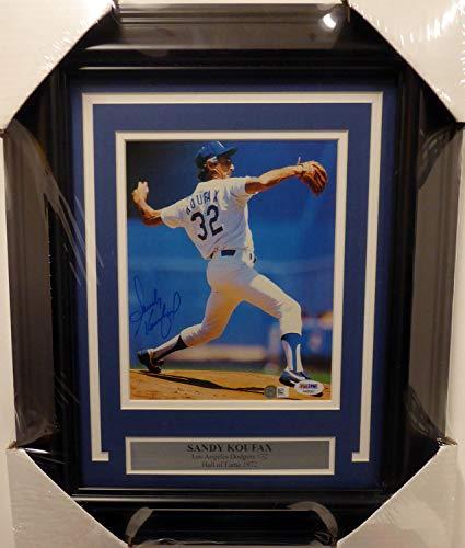 (Sandy Koufax Autographed Signed Memorabilia Framed 7.5X9 Magazine Page Photo Los Angeles Dodgers - PSA/DNA Authentic)