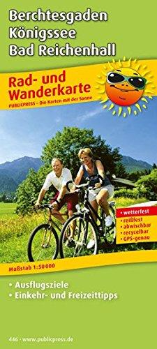 Berchtesgaden - Königssee - Bad Reichenhall: Rad- und Wanderkarte mit Ausflugszielen & Freizeittipps, wetterfest, reissfest, abwischbar, GPS-genau. 1:50000 (Rad- und Wanderkarte / RuWK)