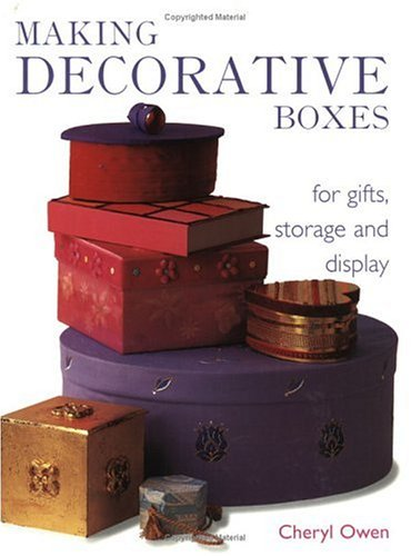 Making Decorative Boxes
