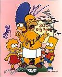 The Simpsons Cast Signed Autographed 8 X 10 Reprint Photo - Mint Condition