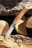 Opinel No.08 Stainless Steel Folding Knife with