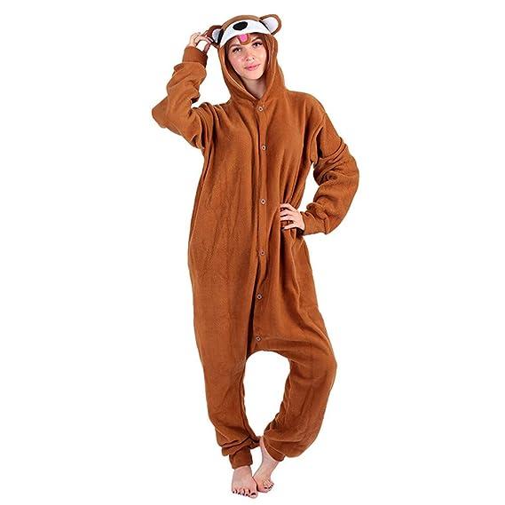 latest fashion new lower prices los angeles Kigurumi Pyjama Combinaison Animal de l'adulte Unisexe, Ours