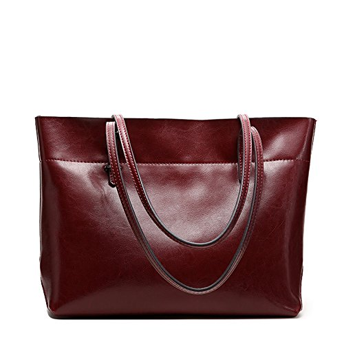 obosoyo-womens-handbag-genuine-leather-tote-shoulder-bags-soft-hot-wine-red2