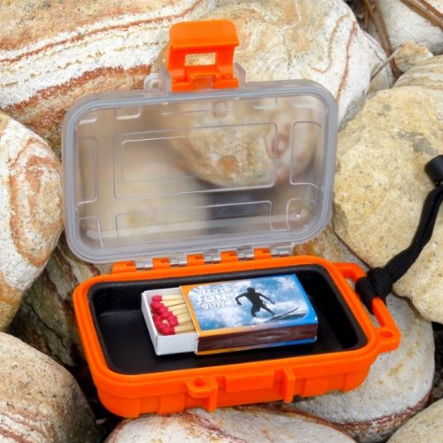 75010-O Outdoor Dry Box wasserdicht ABS Kunststoff Camping Survival