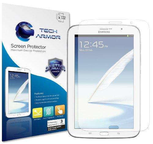 Galaxy Note 8 Screen Protector, Tech Armor Anti-Glare/Anti-Fingerprint Samsung Galaxy Note 8...
