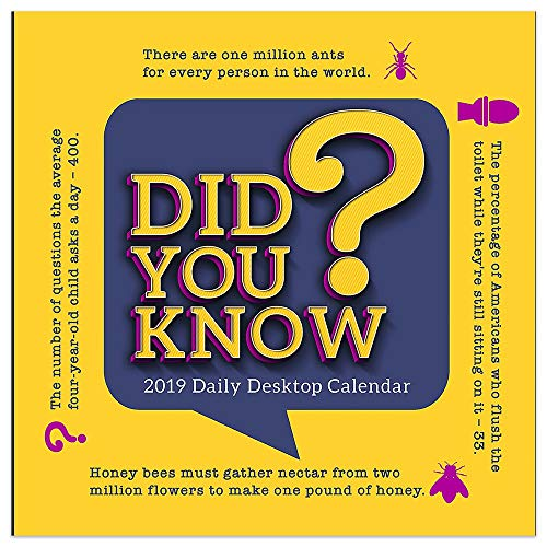 DID You Know? - 2019 Daily Desk ()