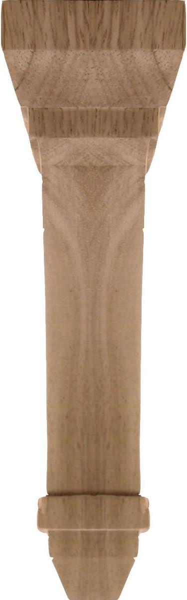 , Ekena Millwork BKT02X05X07STRO-CASE-4 2 1//4 inch W x 5 inch D x 7 inch H Stockport Bracket Red Oak 4-Pack