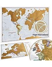 Scratch The World® - kaart Afdrukken