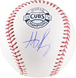 Anthony Rizzo Chicago Cubs Autographed 2017 Opening Day World Series Champs Logo Baseball - Fanatics Authentic Certified