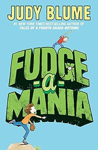 book cover of Fudge-a-mania