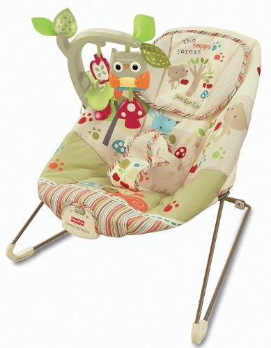 Fisher-Price Woodsy Friends Comfy Time Bouncer by BabyLand